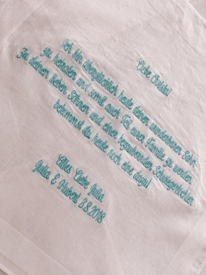 Taschentuch_Taschentuchstick_Hochzeit_Heirat_Text_Stickerei